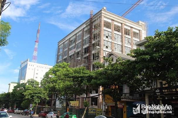 Điều chỉnh quy hoạch, dự án chung cư ở Nghệ An từ hơn 20 tầng xuống 4 tầng - Ảnh 1.
