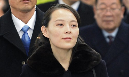 Em gái Kim Jong-un thay mặt anh gặp quan chức Hàn Quốc - Ảnh 1.