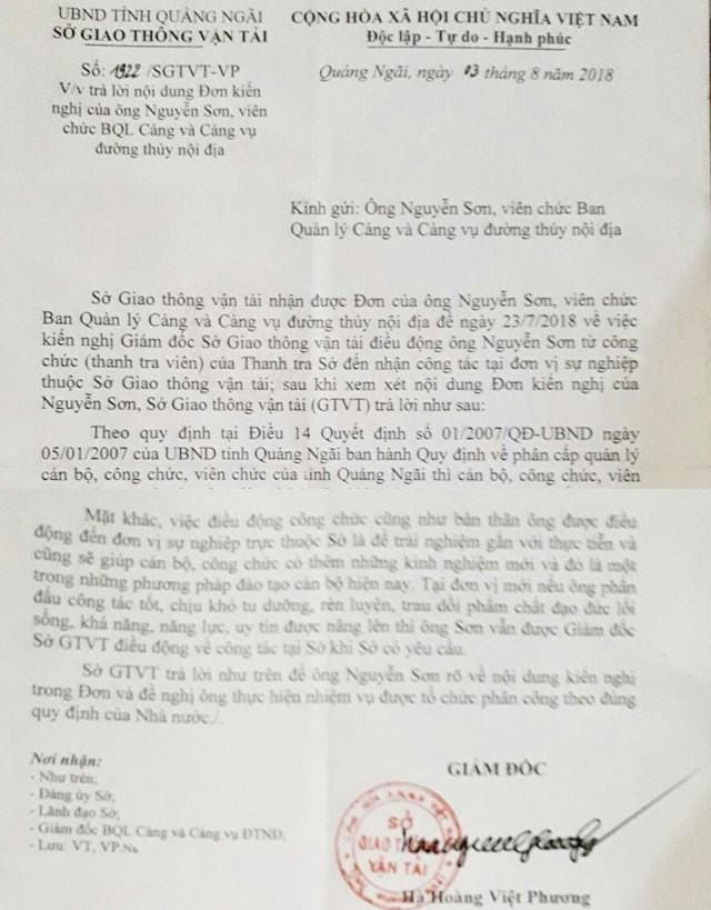 Hàng loạt cán bộ Quảng Ngãi bỗng mất công chức, Sở Nội vụ phân trần  - Ảnh 2.
