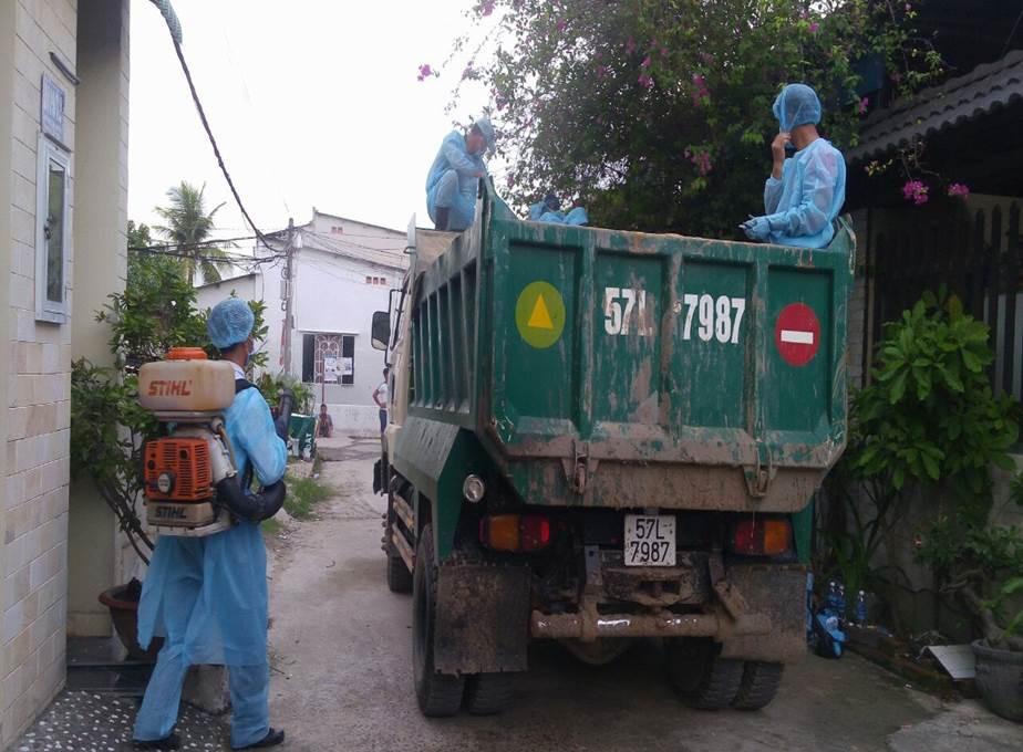Thành phố Hồ Chí Minh khẩn trương dập ổ dịch tả lợn châu Phi đầu tiên - Ảnh 1.