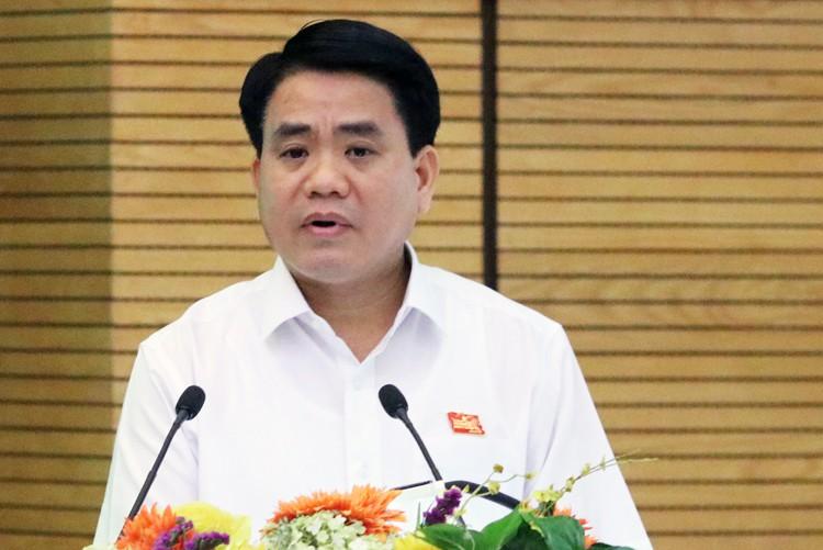 Ông Nguyễn Đức Chung: 'Để giữ kỷ cương thì cả tòa nhà Lê Trực cũng phải đập' - Ảnh 1.