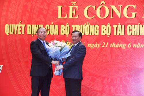 Bổ nhiệm ông Cao Anh Tuấn giữ chức Tổng cục trưởng Tổng cục Thuế - Ảnh 1.