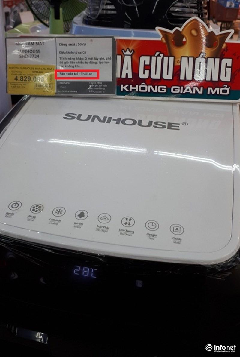 Xuất xứ TQ, thương hiệu Hàn Quốc, hàng VN chất lượng cao: Sunhouse của nước nào? - Ảnh 2.