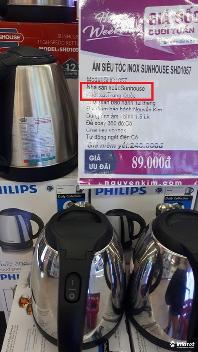 Xuất xứ TQ, thương hiệu Hàn Quốc, hàng VN chất lượng cao: Sunhouse của nước nào? - Ảnh 6.