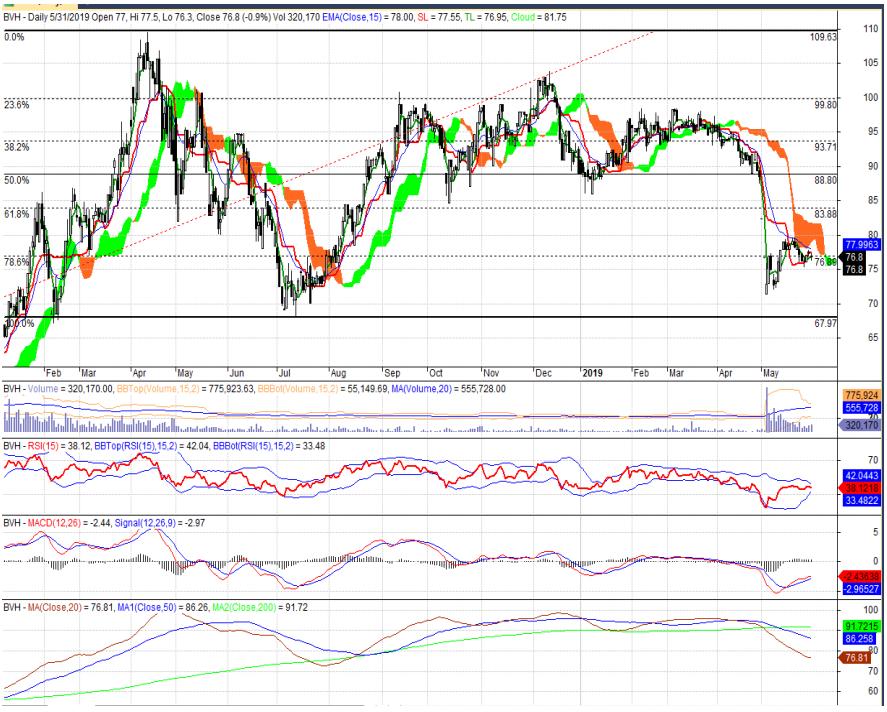 Cổ phiếu tâm điểm ngày 4/6: BVH, HCM, HDG - Ảnh 1.