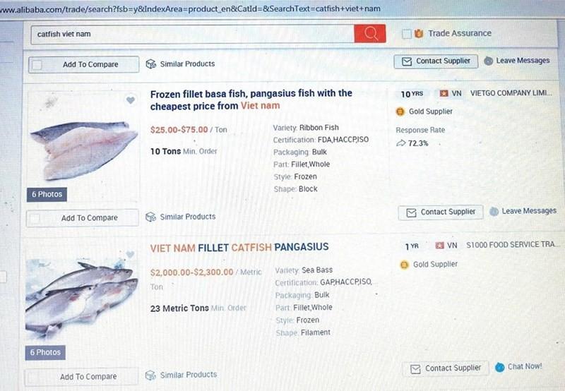 Bán qua Alibaba, cá tra Việt tấn công Bắc Kinh, Thượng Hải - Ảnh 1.