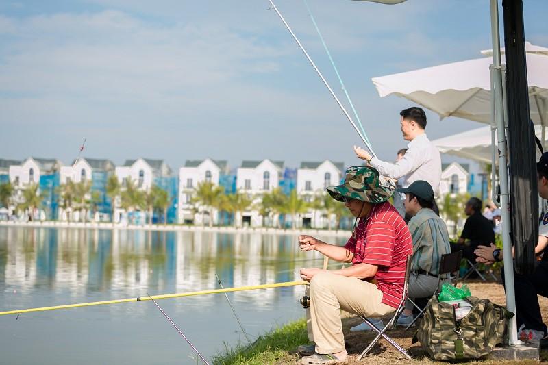 Sớm câu cá, chiều thả diều: cuộc sống trong mơ tại Vinhomes Ocean Park - Ảnh 4.