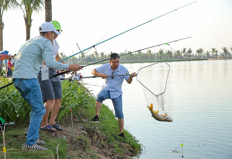 Sớm câu cá, chiều thả diều: cuộc sống trong mơ tại Vinhomes Ocean Park - Ảnh 5.