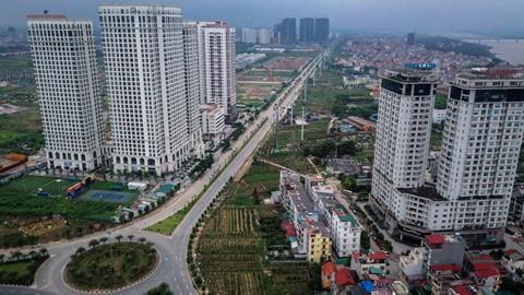 Rừng chung cư dọc tuyến đường ngoại giao ra sân bay Nội Bài - Ảnh 3.  'Rừng chung cư' dọc tuyến đường ngoại giao ra sân bay Nội Bài photo 3 15598154920661403237924