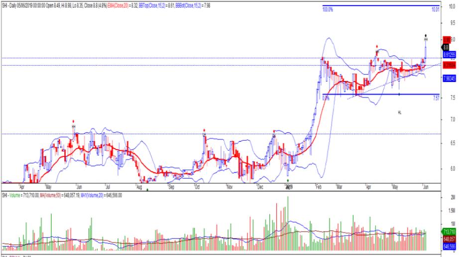 Cổ phiếu tâm điểm ngày 7/6: BID, SHI, KMR - Ảnh 2.