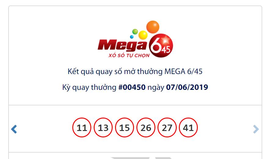 Kết quả Vietlott Mega 6/45 ngày 7/6: Không tìm được tỉ phú jackpot dù đạt gần 33 tỉ đồng - Ảnh 1.