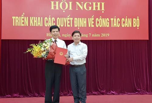 Ông Lê Anh Tuấn chính thức làm Thứ trưởng Bộ Giao thông Vận tải - Ảnh 1.
