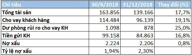 Hết 6 tháng đầu năm, tăng trưởng cho vay của VIB lên tới 19% - Ảnh 2.