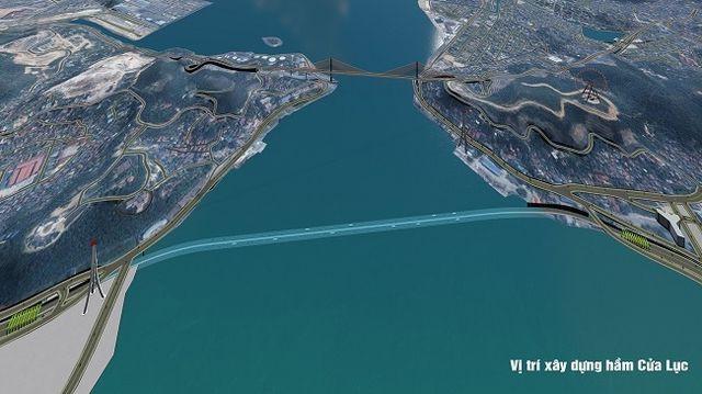 Chuẩn bị xây hầm xuyên biển lớn nhất Việt Nam, Quảng Ninh tiết kiệm 2.000 tỉ đồng/năm - Ảnh 1.