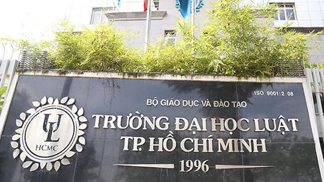 Bộ GD-ĐT sẽ thanh tra Trường ĐH Luật TP.HCM trong tuần tới - Ảnh 1.