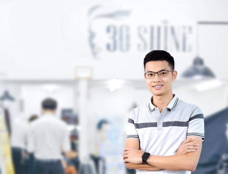 Bùi Quang Hùng, đồng sáng lập 30Shine: 'Số hóa' nghề làm tóc nam - Ảnh 1.