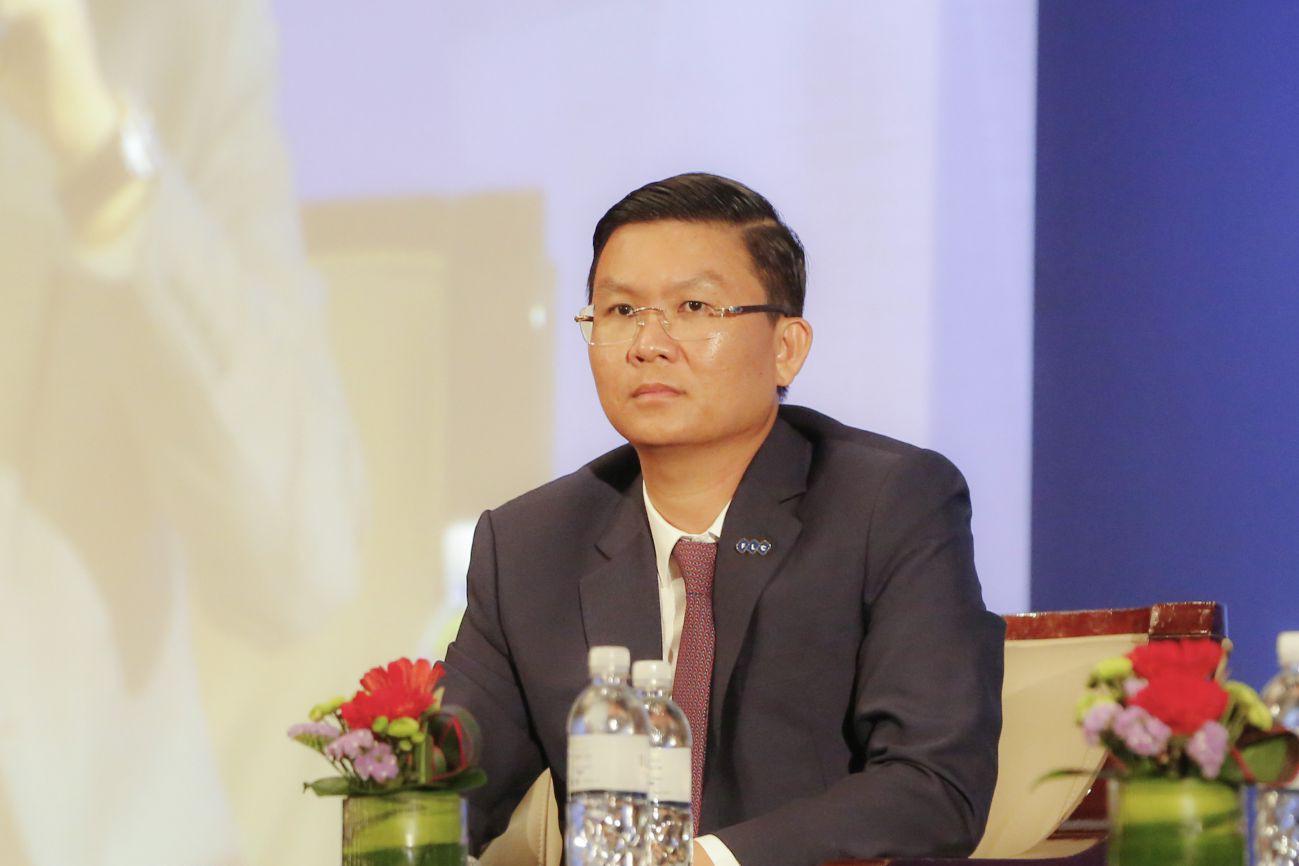 Ông Lê Thành Vinh - Phó Chủ tịch Thường trực Tập đoàn FLC, tân Tổng Giám đốc FLC Faros. Ảnh: FLC.