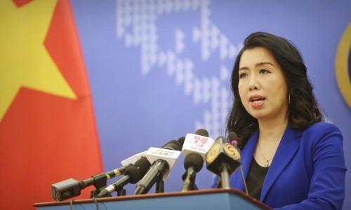 Việt Nam yêu cầu Trung Quốc rút toàn bộ tàu khỏi vùng đặc quyền kinh tế - Ảnh 1.