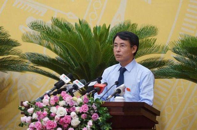 Chủ tịch Hà Nội phê bình Giám đốc Sở Tài nguyên và Môi trường - Ảnh 1.