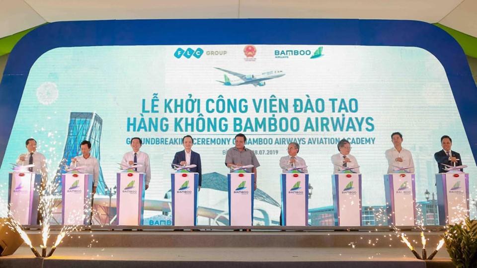 Bamboo khởi công