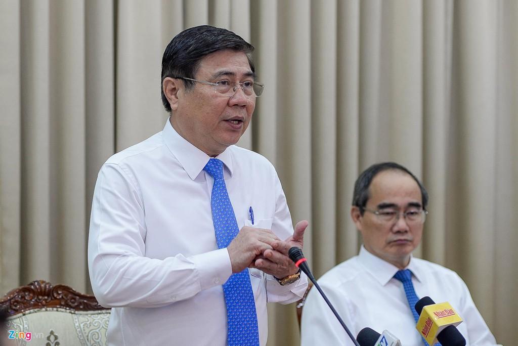 Chủ tịch TP HCM cam kết thực hiện nghiêm kết luận thanh tra Thủ Thiêm - Ảnh 1.