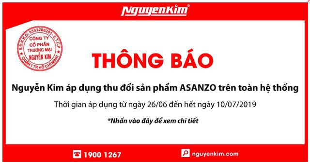 Asanzo phản đối Nguyễn Kim, Điện Máy Xanh, Điện Máy Chợ Lớn thu đổi tivi của hãng - Ảnh 1.