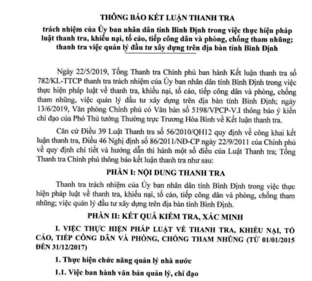 'Lộ' 10 cán bộ, công chức ở Bình Định liên quan đến tham nhũng - Ảnh 2.