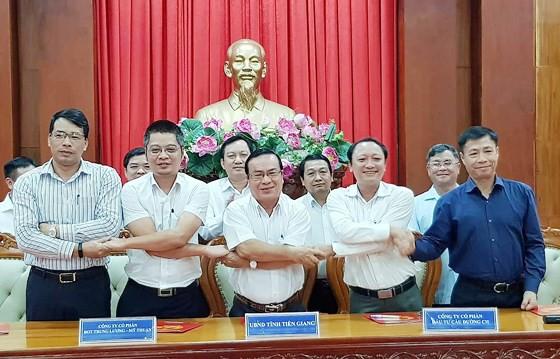 Cao tốc Trung Lương - Mỹ Thuận: Thống nhất kí phụ lục hợp đồng trên 12.000 tỉ - Ảnh 1.