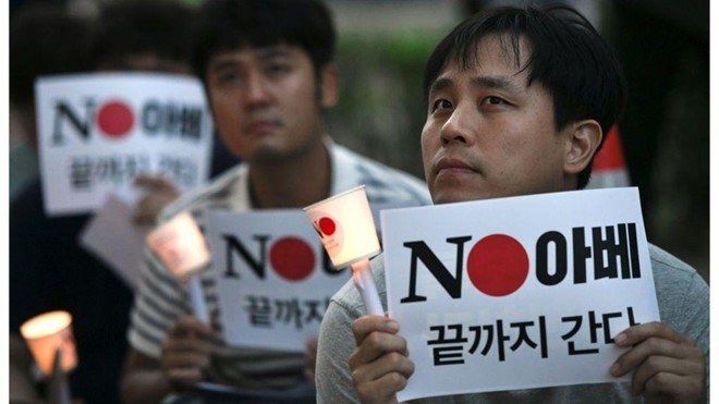 Leo thang căng thẳng, Hàn Quốc loại Nhật Bản khỏi 'Danh sách Trắng' - Ảnh 1.