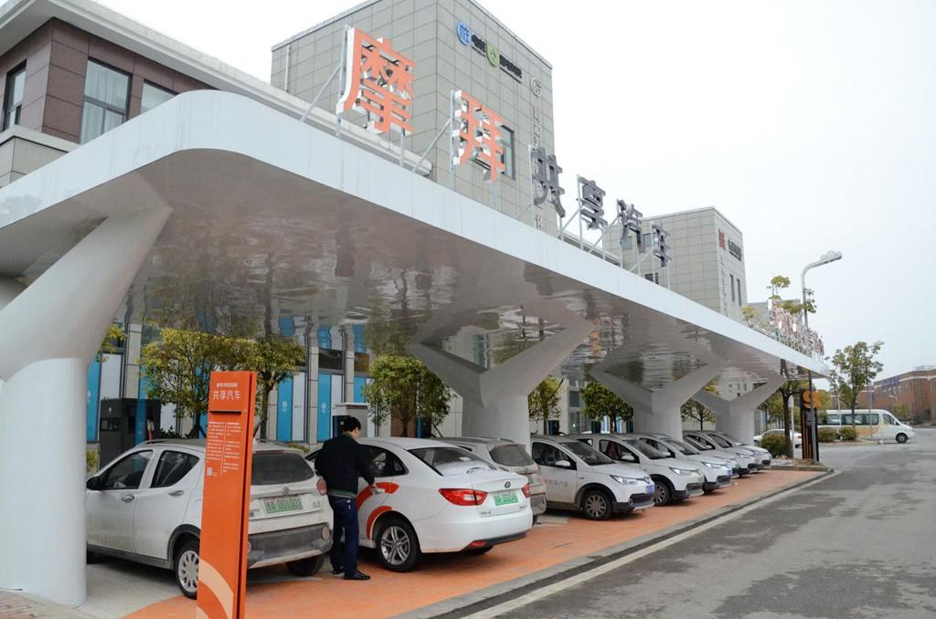 Dịch vụ chia sẻ ô tô thất bại, hàng trăm nghìn xe bị vứt tại Trung Quốc - Ảnh 1.