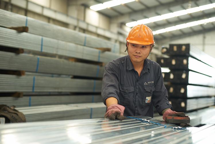 Sản lượng Ống thép Hòa Phát tháng 7 tăng 32,5%, tiếp tục dẫn đầu thị phần - Ảnh 1.