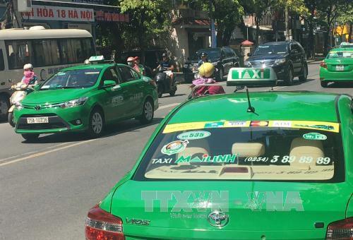 Đề xuất phương án nhận diện xe taxi công nghệ thay việc 'đeo mào' - Ảnh 1.