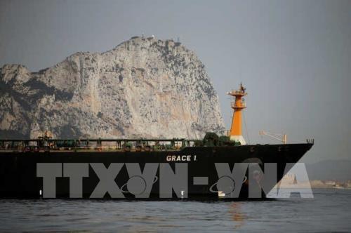 Bộ Tư pháp Mỹ ra lệnh bắt tàu chở dầu Grace 1 của Iran - Ảnh 1.