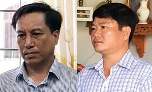 Cựu chủ tịch và Phó chủ tịch TP Trà Vinh bị bắt - Ảnh 1.