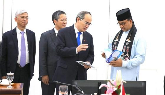 Bí thư Thành ủy TP HCM đề xuất mở rộng kết nối hàng không, hàng hải giữa Việt Nam và Indonesia - Ảnh 5.