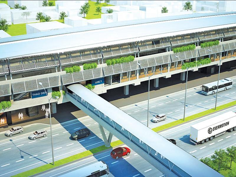 Ngã rẽ mới của Dự án metro số 1 Hà Nội - Ảnh 1.