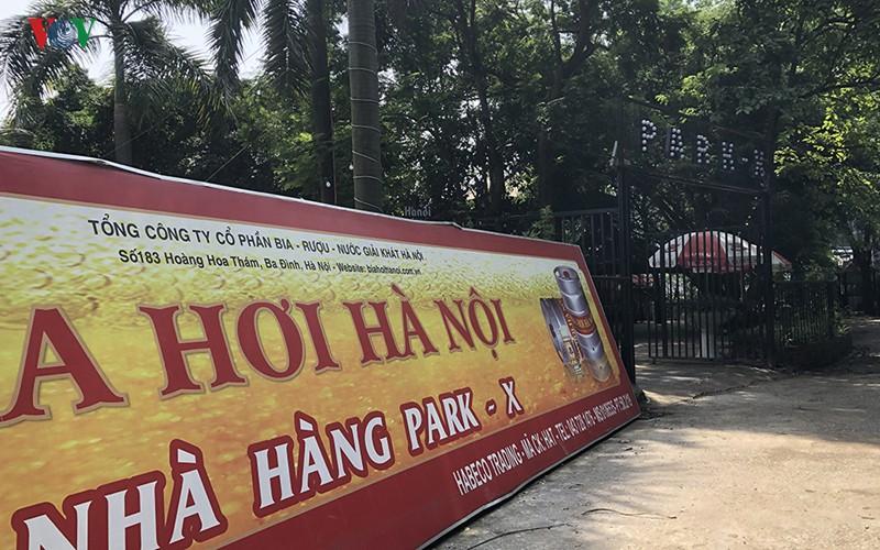 Cận cảnh bên trong Công viên Tuổi trẻ Thủ đô ở Hà Nội bị 'xẻ thịt' - Ảnh 7.