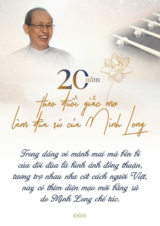 20 năm theo đuổi giấc mơ làm đũa sứ của Minh Long - Ảnh 1.