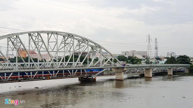 Bảo tồn cầu sắt Bình Lợi 117 tuổi ở Sài Gòn - Ảnh 1.