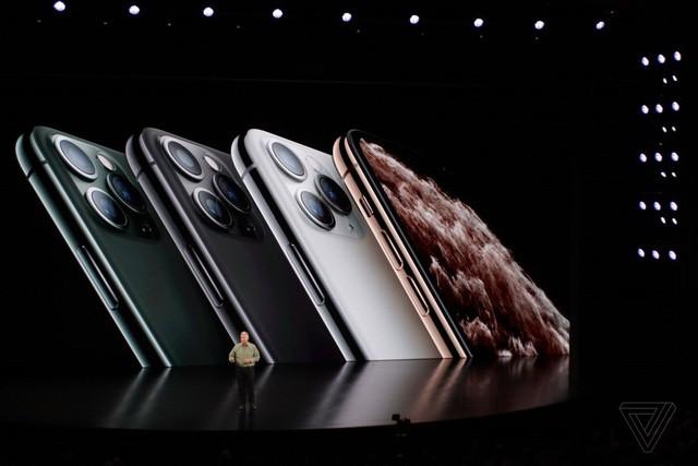 Cận cảnh bộ đôi iPhone 11 Pro và iPhone 11 Pro với cụm 3 camera vừa ra mắt - Ảnh 1.
