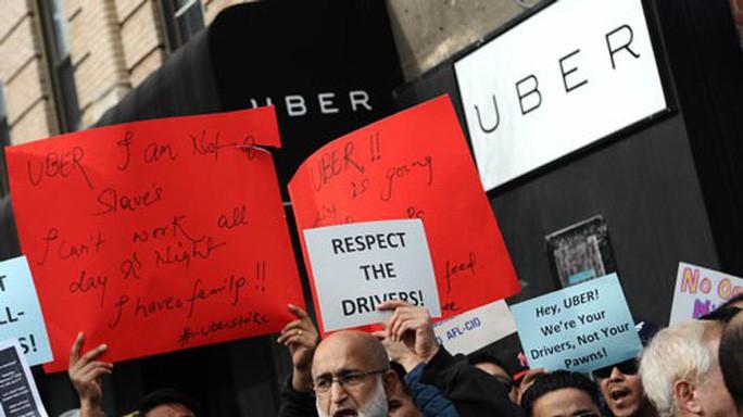 Bước ngoặt cho tài xế taxi công nghệ ở California - Ảnh 1.