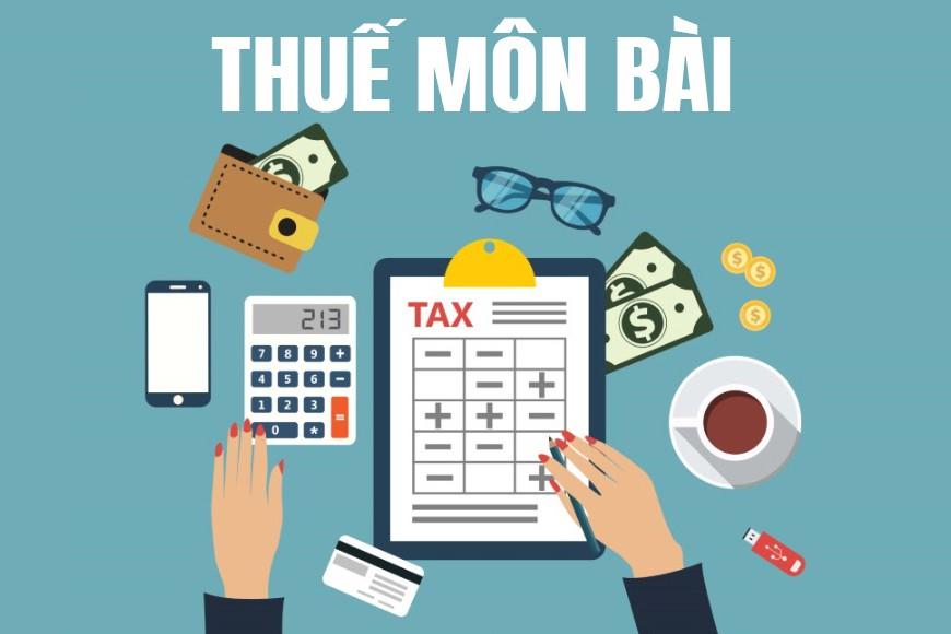 Thuế môn bài (License tax) là gì? Đặc điểm của thuế môn bài