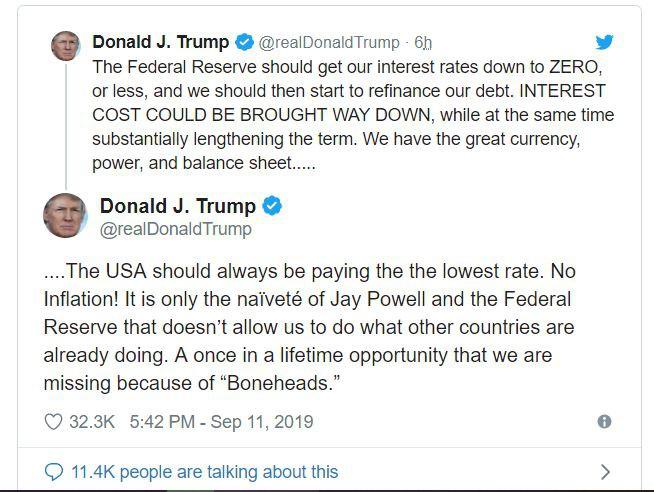 trump fed bonehead
