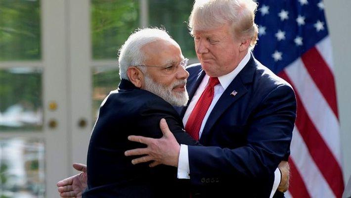 Donald Trump and Modi