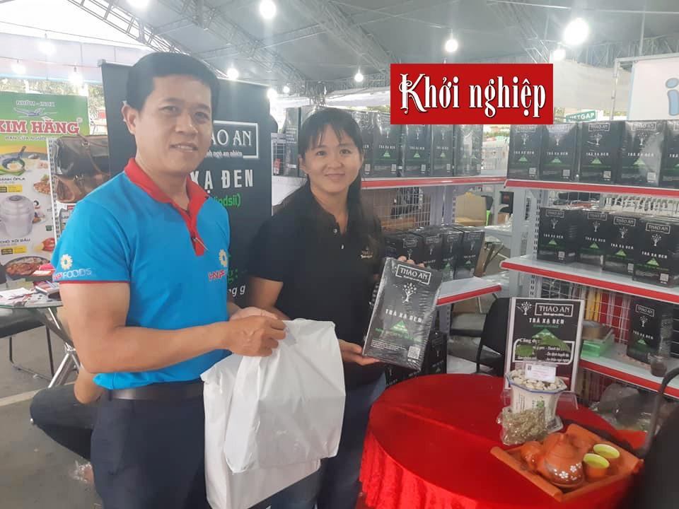 Cô gái An Giang bỏ việc ngân hàng để khởi nghiệp từ cây dược liệu - Ảnh 1.