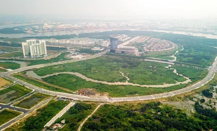 Quỹ đất còn lại ở Thủ Thiêm trị giá 22.000 tỉ - Ảnh 1.