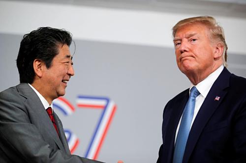 Trump nói đã đạt thỏa thuận thương mại với Nhật Bản - Ảnh 1.