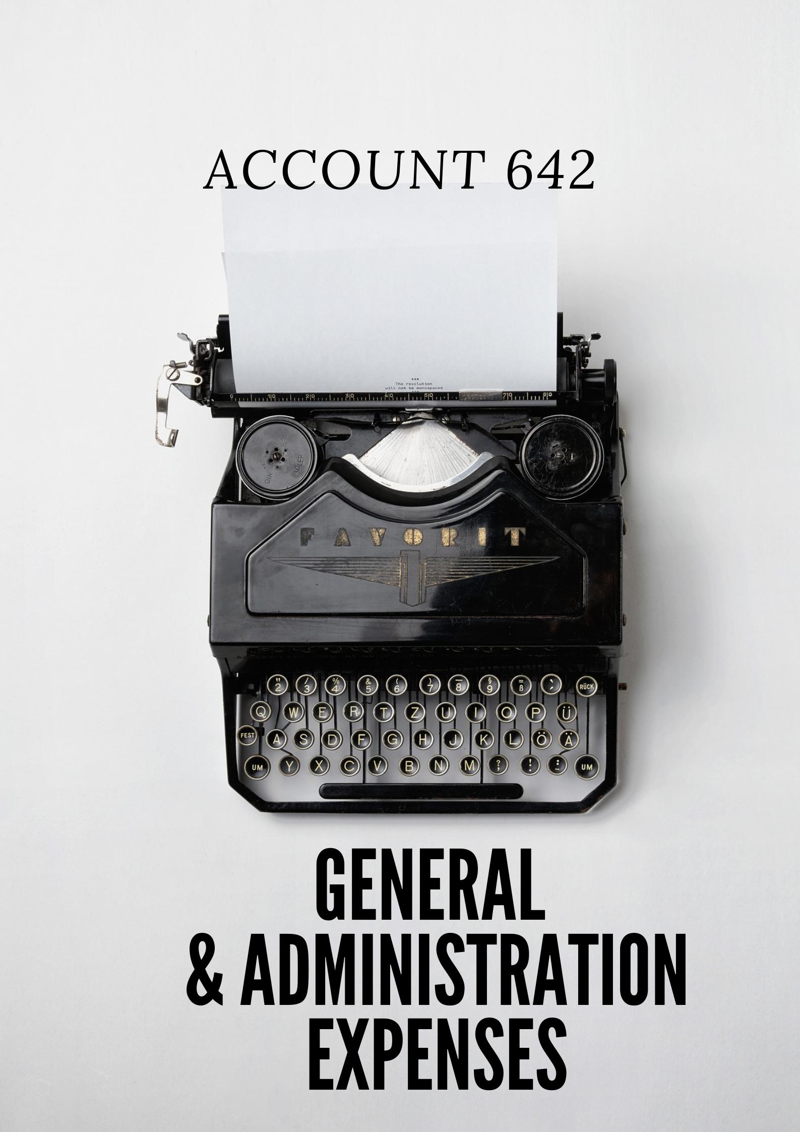 chi phí quản lí doanh nghiệp (general & administration expenses) là gì?