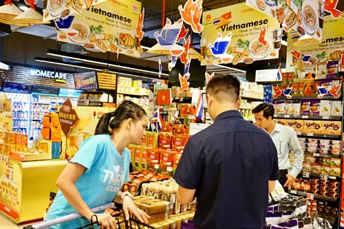 Thực phẩm Việt lách cửa hẹp vào Thái Lan - Ảnh 2.