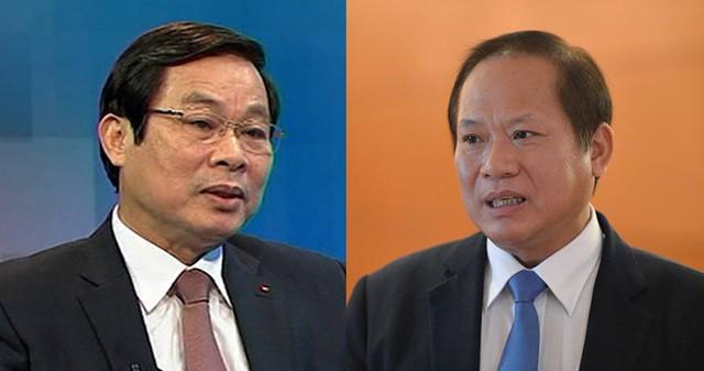 Khai trừ khỏi Đảng hai cựu Bộ trưởng Thông tin và Truyền thông - Ảnh 1.